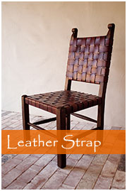 leather strap chair buffalo dining chair salsa trading company inc broadway sonoma ca 707